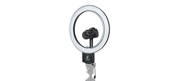 ring light para iluminação para vídeo