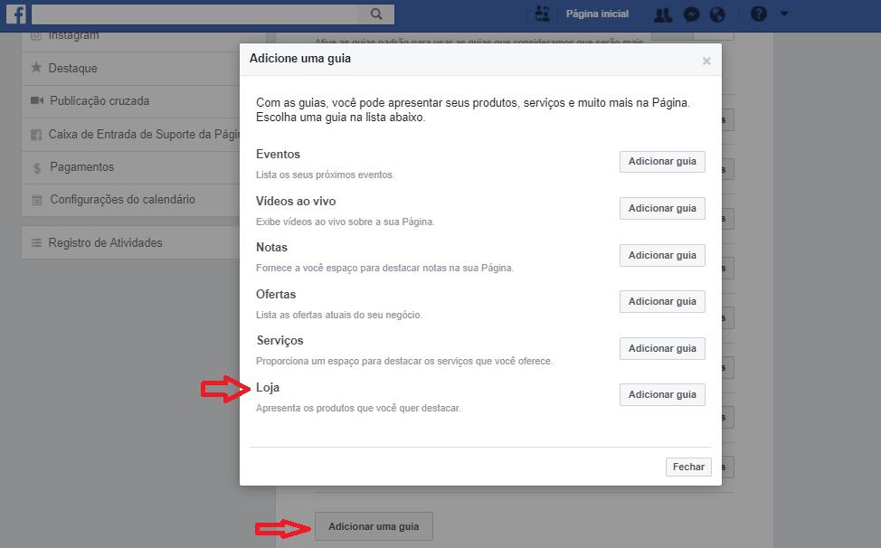 passo 6 como vender pelo facebook